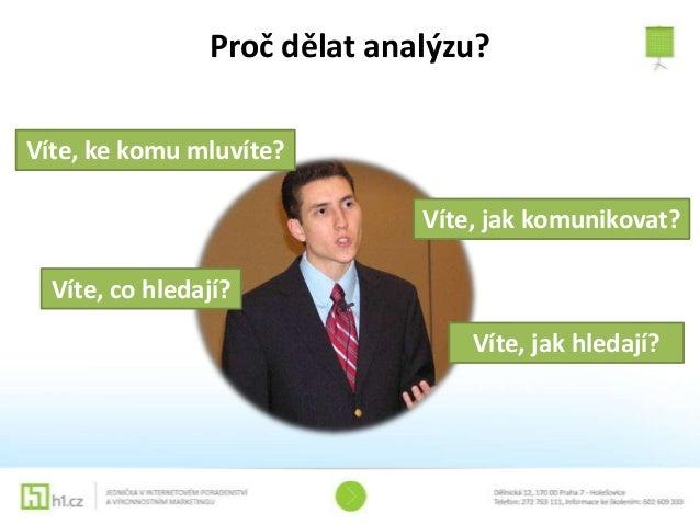 Analýza klíčových slov Slide 2