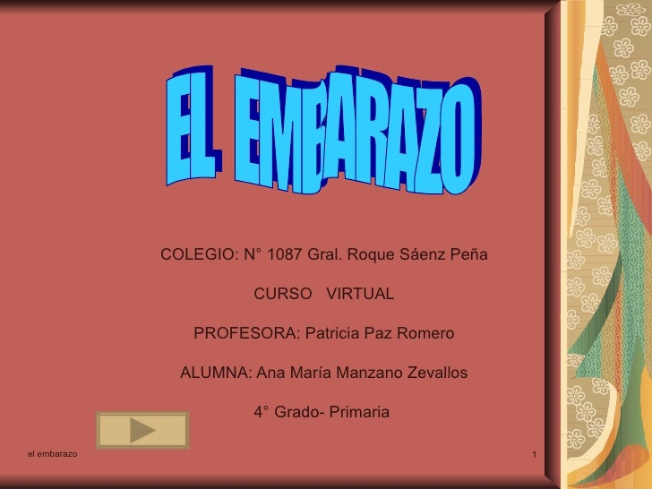 COLEGIO: N° 1087 Gral. Roque Sáenz Peña CURSO  VIRTUAL PROFESORA: Patricia Paz Romero ALUMNA: Ana María Manzano Zevallos 4...