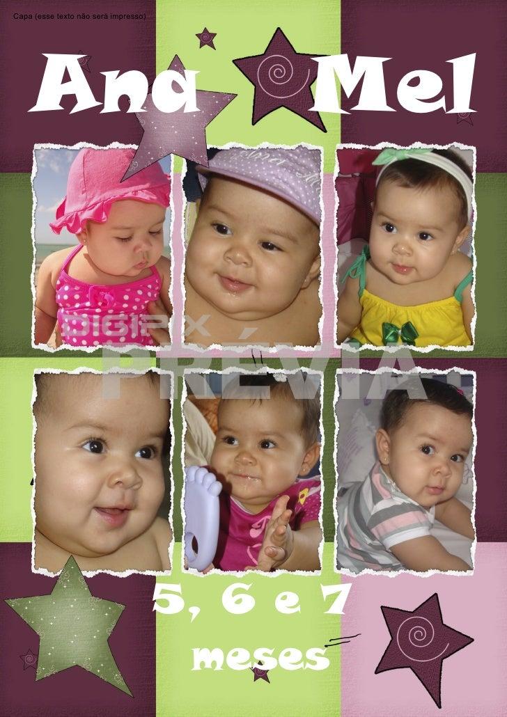 Ana mel (5, 6 e 7 meses) álbum 3 preview