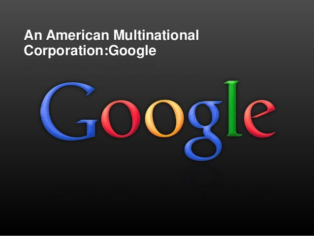 An american multinational corporation