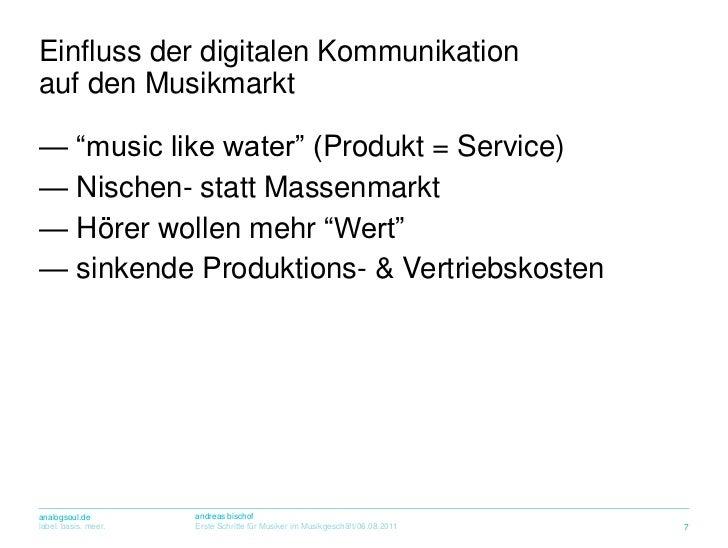 """<ul><li> """"music like water"""" (Produkt = Service)"""