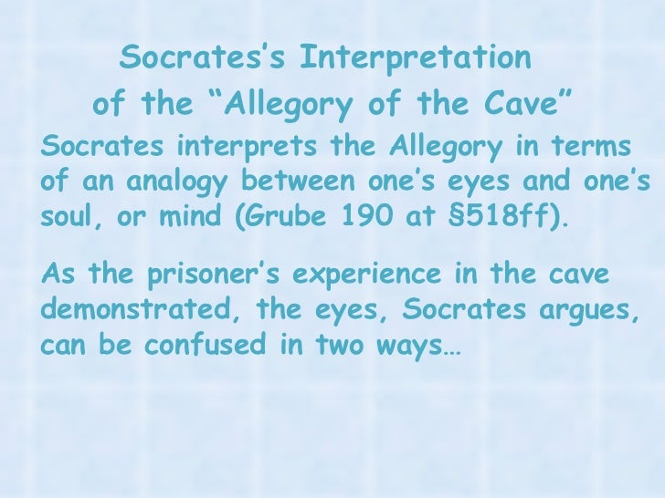 allegory of the cave simplified
