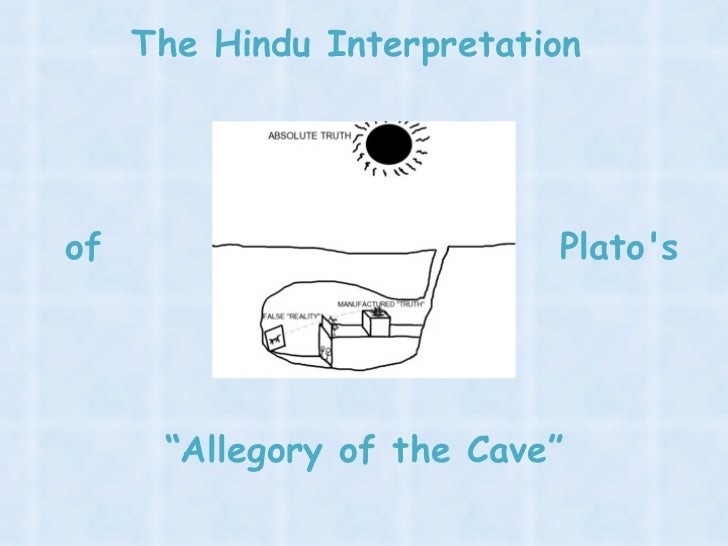 a breakdown of plato s allegory of The allegory of the cave is supposed to explain this in the allegory, plato likens  people untutored in the theory of forms to prisoners chained.