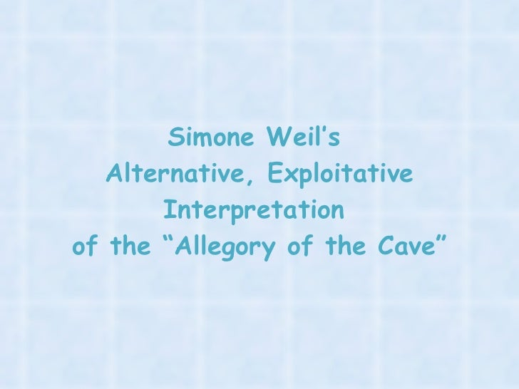 allegory of the cave summary and The allegory of the cave in plato's allegory of the cave, he makes us look at the nature of reality we ask ourselves, why are we here what is reality.