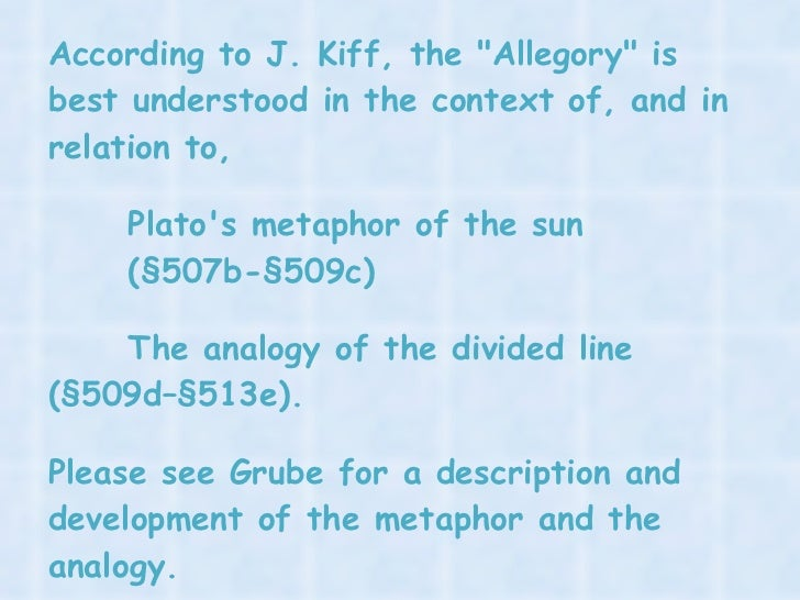 an analysis of the dialogues in the allegory of the cave by plato Plato's philosophy summary share contents  both in the analysis of love and desire than that of speculative  (allegory of the cave) – dialogues of the.