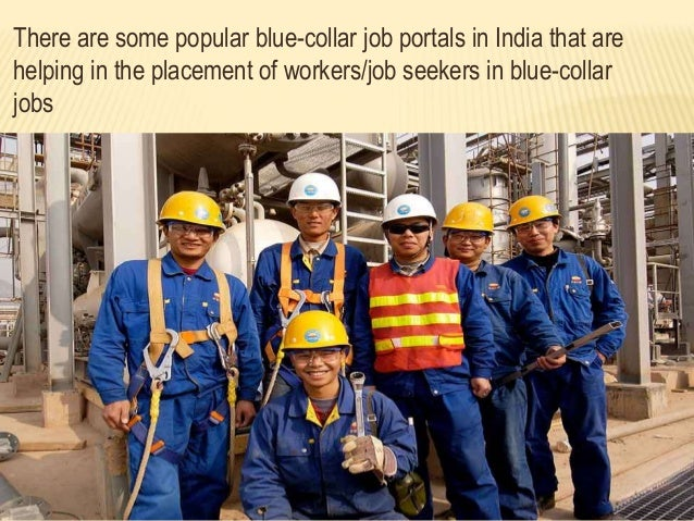 an analysis of blue collar job portals in india