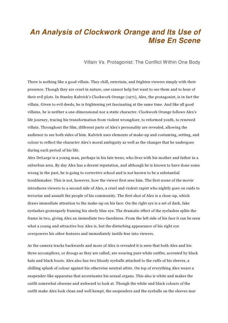 a clockwork orange thesis