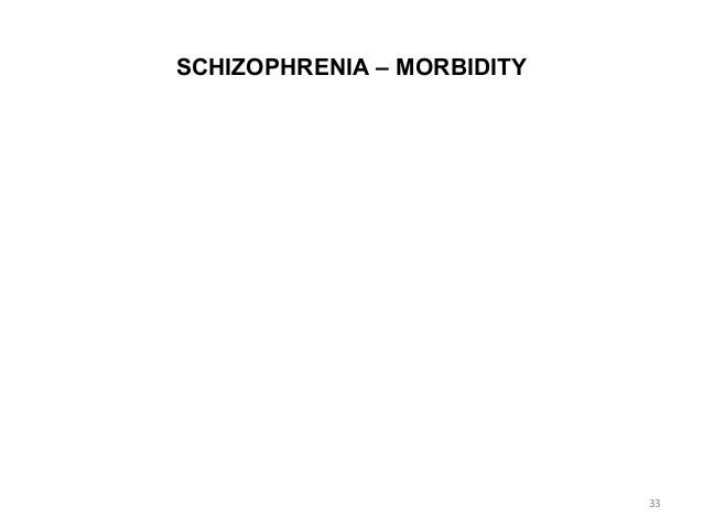 Schizophrenia Symptoms, Patterns And Statistics And Patterns