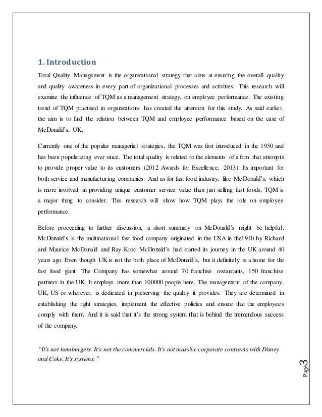 Dissertation on quality management student behavior essays