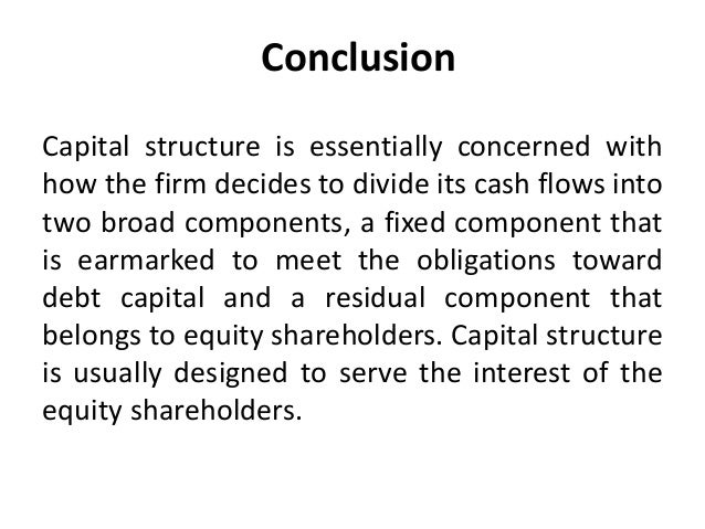case analysis on capital structure pioneer • if the capital markets and financing systems are not supportive of hostile takeovers capital structure is irrelevant n the value of a firm is independent of its debt ratio with that definition through the entire analysis aswath damodaran 21 measuring cost of capital n it will.