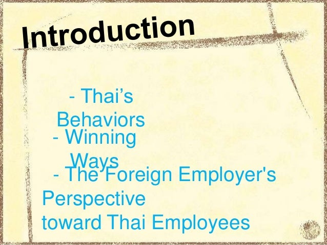 thai analysis Thailand - pestle analysis - download as pdf file (pdf), text file (txt) or read online this profile analyzes the political, economic, social, technological, legal.