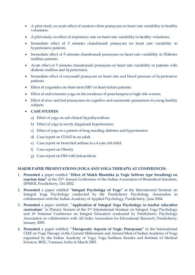 Biodata of Yogacharya Dr Ananda Balayogi Bhavanani
