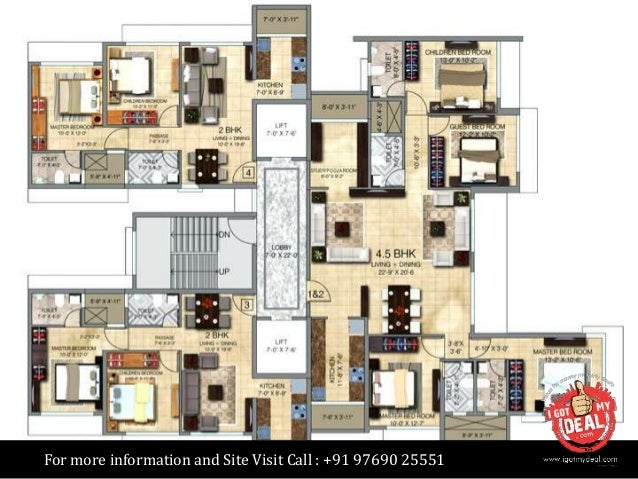 Paradigm Ananda Residency In Borivali West Mumbai Price Review B