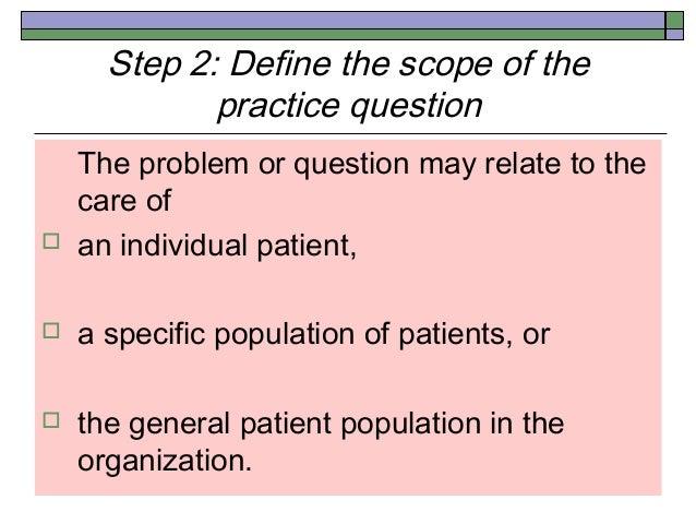 hospotal trained nurses how to use evidence base practice