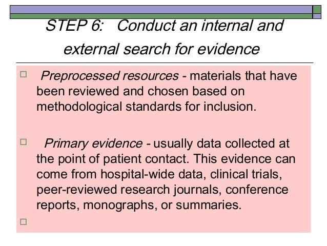 primary research in evidence based practice and applied nursing research Topic: evidenced based practice - (c361) subdomain 7248 - evidence-based practice & applied nursing research competency 72481: primary research - the graduate recognizes basic scientific research concepts and techniques.