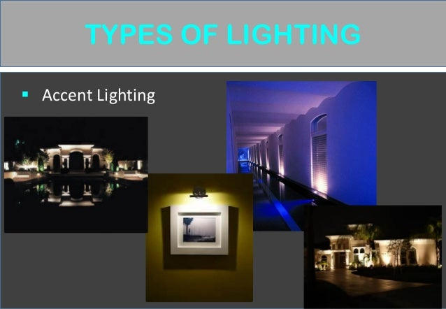 Wonderful TYPES OF LIGHTING Decorative Lighting ...