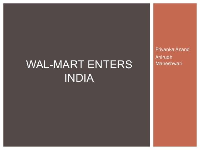 Priyanka AnandAnirudhMaheshwariWAL-MART ENTERSINDIA