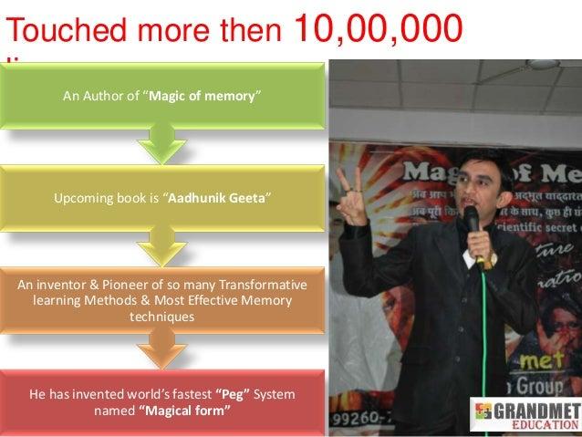 magic of memory anand sagar tanna