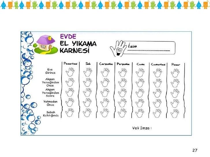 Anaokulu El Yıkama Kids Hand Washing