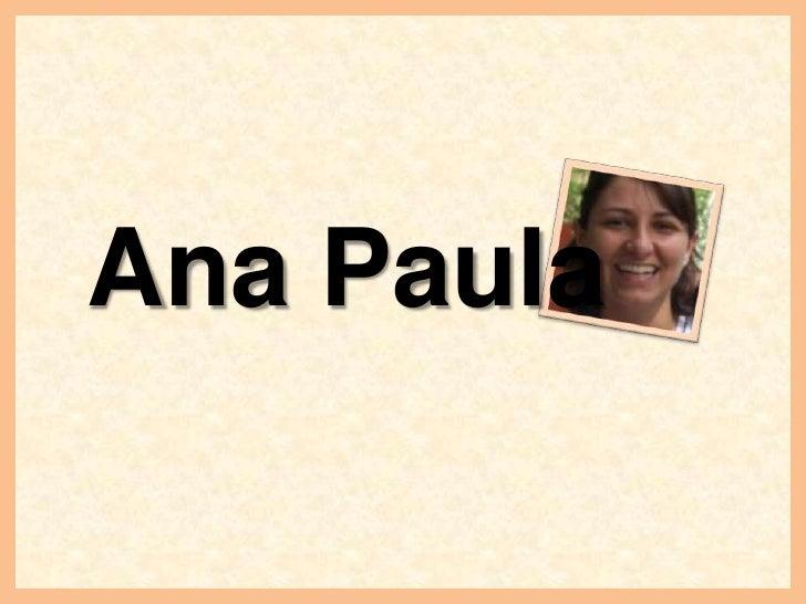 Ana Paula<br />