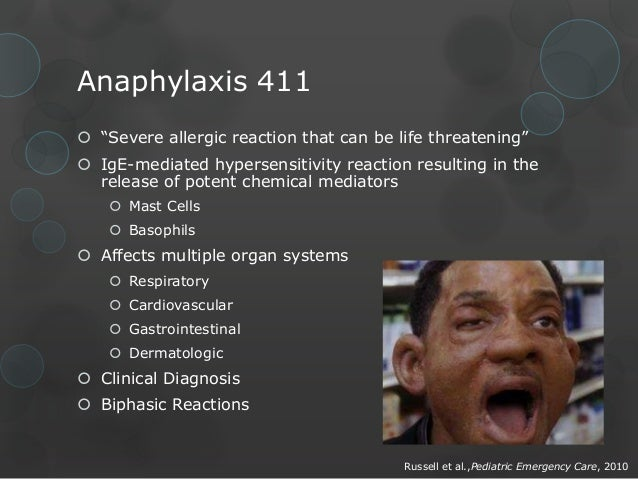 anaphylaxis and hypersensitivity reactions pdf