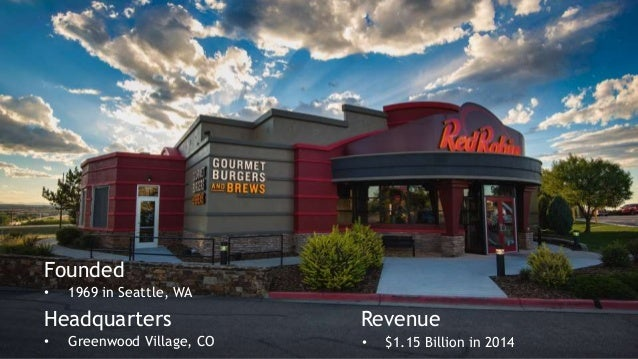 Anaplan Hub 2015: Red Robin speeds up planning and delivers retail o…