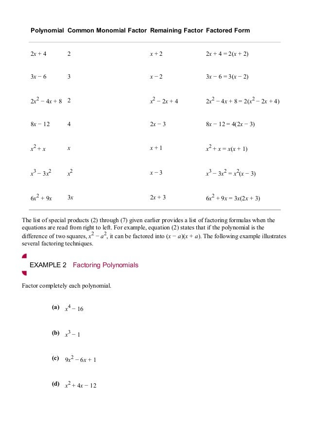 An applied approach to calculas – Practice 5-4 Factoring Quadratic Expressions Worksheet Answers