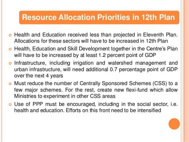 11 twelfth five year plan 2012 17 India's eleventh five-year plan (2007-2012)  sectors have been pegged at 9 to 11  the 12th plan in order to double per capita income by 2016-17.