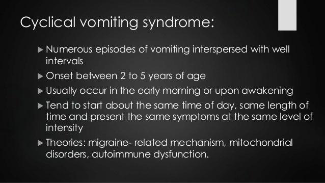 Cyproheptadine For Abdominal Migraines