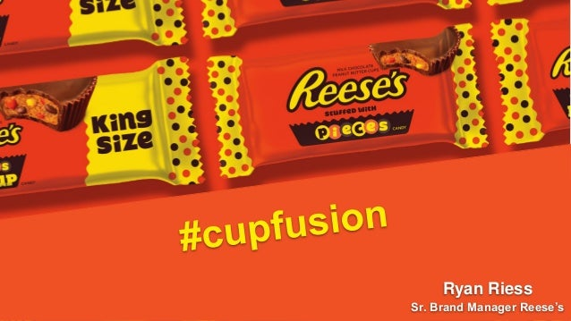 Cupfusion Reeses Pieces Peanut Butter Cup Product Launch