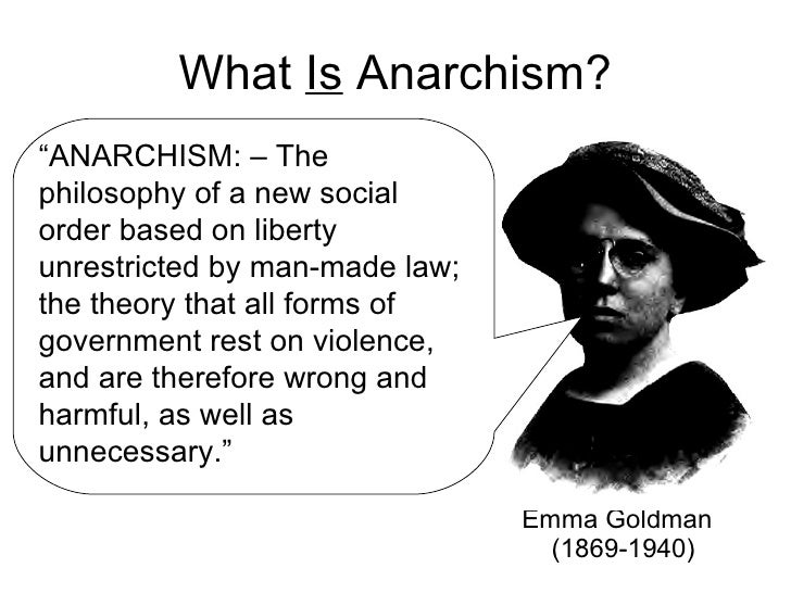 The problems of philosophical anarchy essay