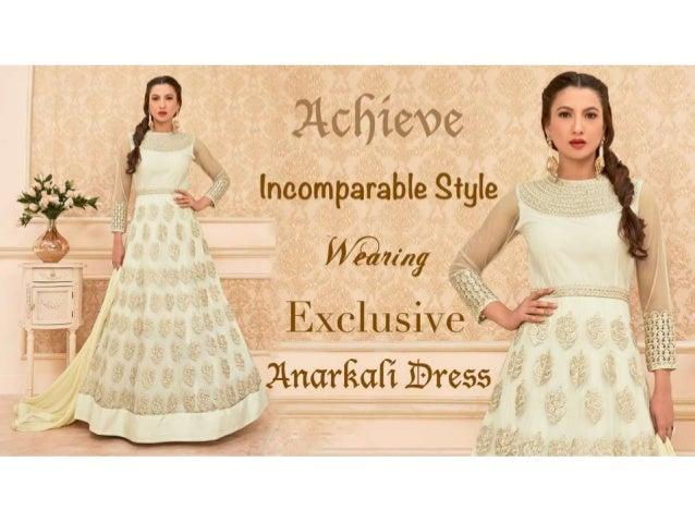 Designer Anarkali Suits: Party Wear Anarkali Gown Dresses Latest Fash…