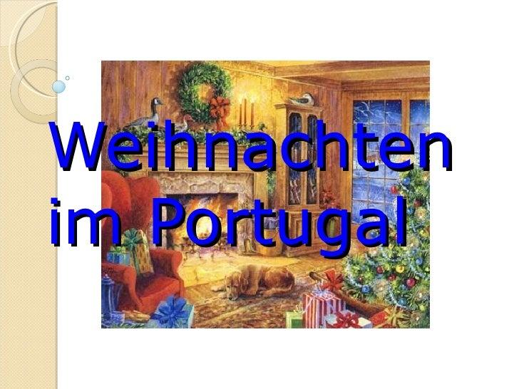 Weihnachten im Portugal