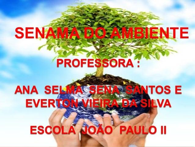 SENAMA DO AMBIENTE