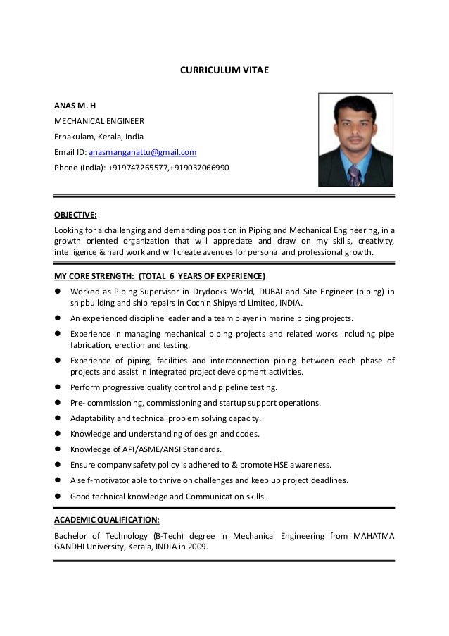 anas m h mechanical piping engineer 2016