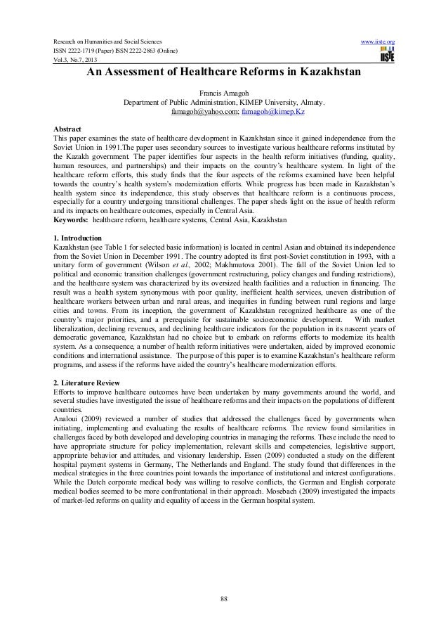 Research on Humanities and Social Sciences www.iiste.orgISSN 2222-1719 (Paper) ISSN 2222-2863 (Online)Vol.3, No.7, 201388A...
