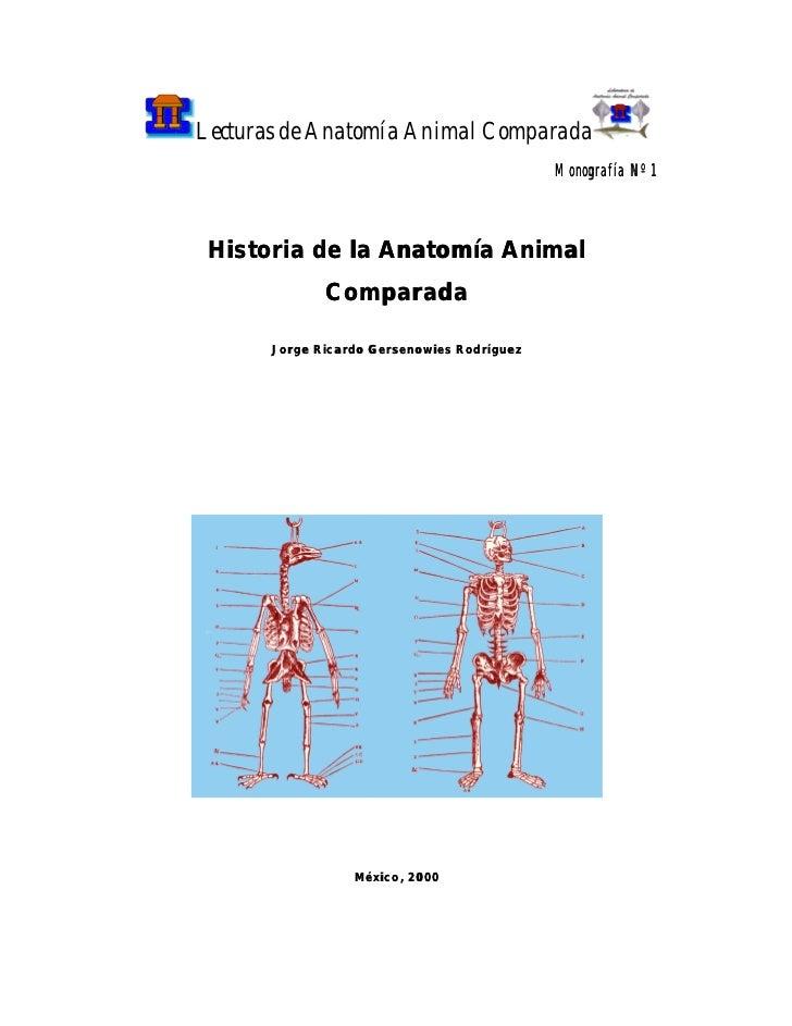 Historia de la Anatomía