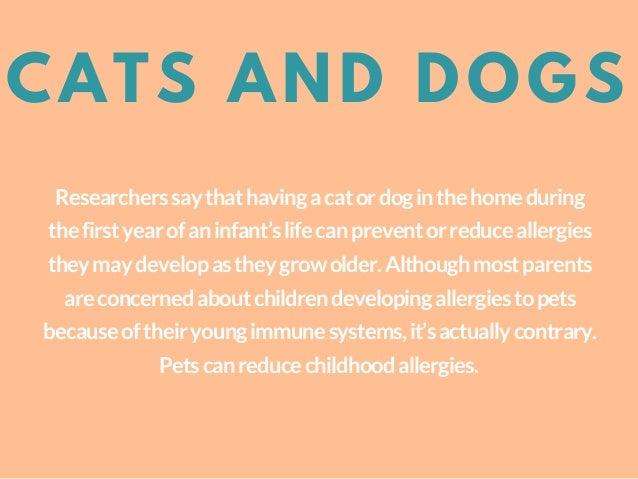 Pets Preventing Childhood Allergies Slide 3