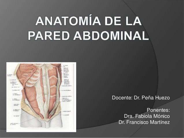 Docente: Dr. Peña Huezo Ponentes: Dra. Fabiola Mónico Dr. Francisco Martínez