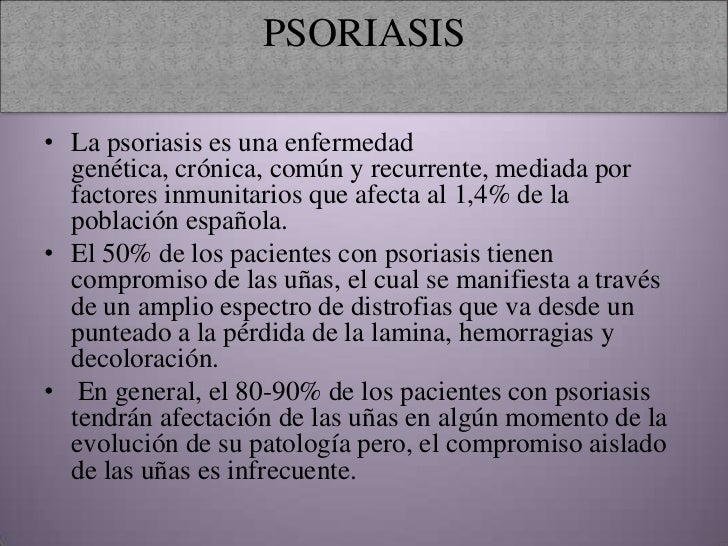 La homeopatía los preparados de la psoriasis