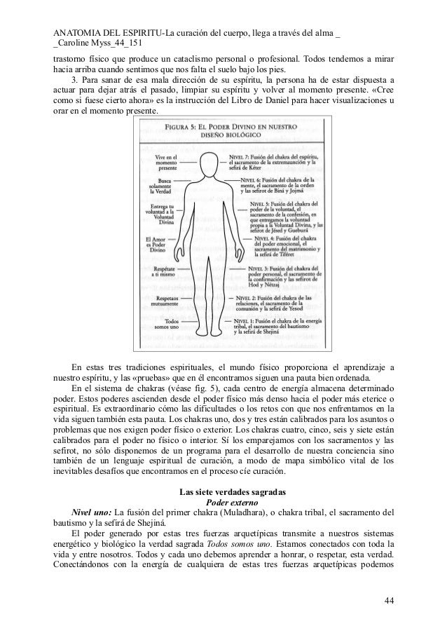 Famoso Energía Myss Anatomía Caroline Galería - Anatomía de Las ...