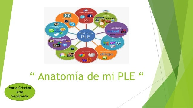 """ Anatomía de mi PLE "" María Cristina Aros Sepúlveda"