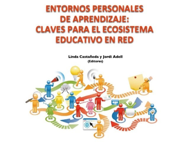 ENTDRNDS PERSONALES DE APREN DIZAIE:  CLAVES PARA El.  ECDSISTEMA EDUCATIVO EN RED  Linda Castañeda y jordi Adell (Editores)