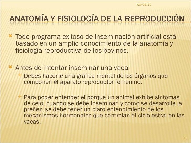 Anatomía y fisiología de la reproducción dr. redondo