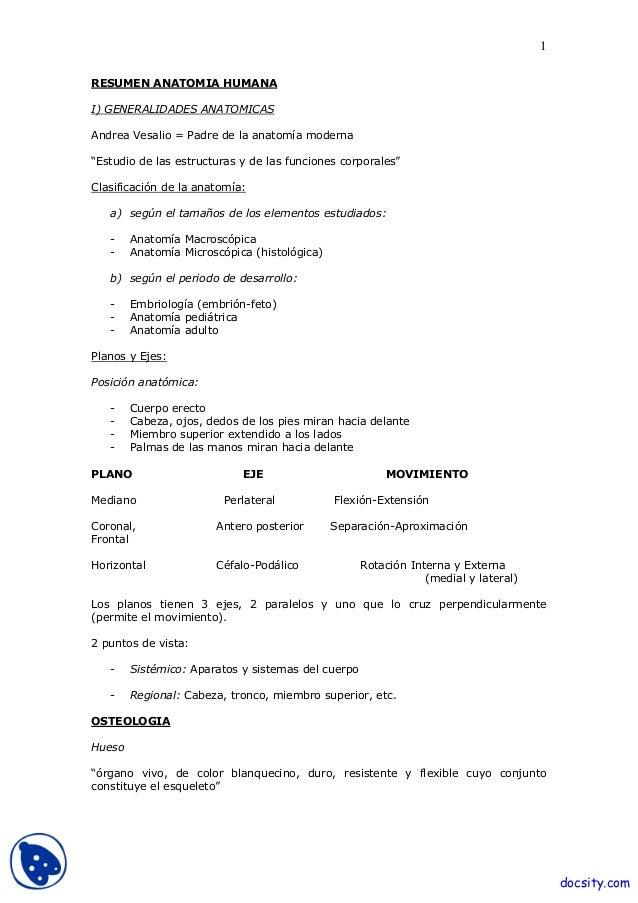 Anatomia humana-resumen-anatomia-parte-1
