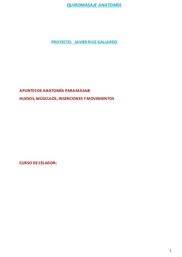 Anatomia javier ruiz gallardo