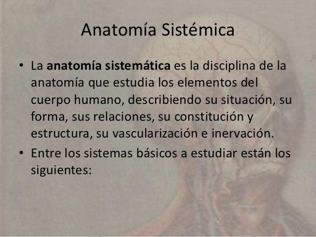 Metodos de Estudio de la Anatomía