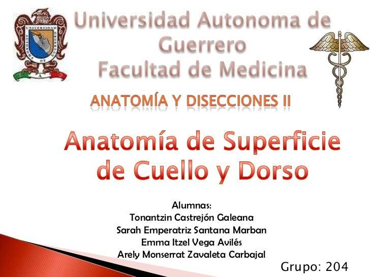 Alumnas:   Tonantzin Castrejón GaleanaSarah Emperatriz Santana Marban      Emma Itzel Vega AvilésArely Monserrat Zavaleta ...