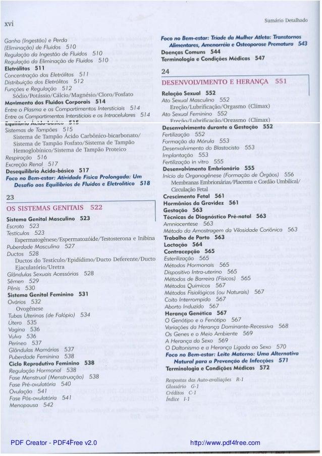 Fantástico Fundamentos De La Anatomía Y Fisiología Humana Libro De ...