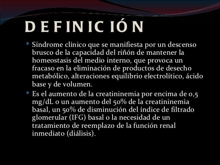POLIURIA PATOLÓGICA Expresa alteración funcional orgánica de origen renal o extrarrenal.                         IRA( ET...